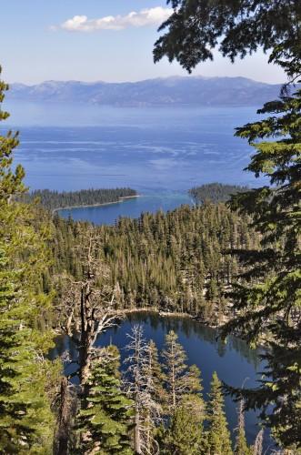 Blick auf Emerald Bay, Lake Tahoe