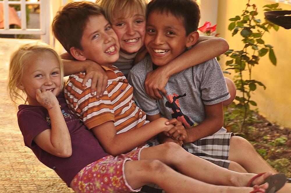 Kinder kennen keine Sprachbarrieren