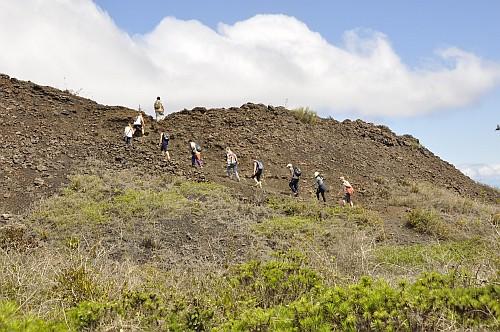 Aufstieg zum Volcán Chico