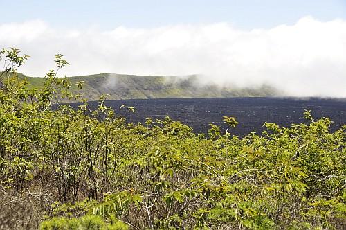 Sierra Negra Krater ohne Wolken