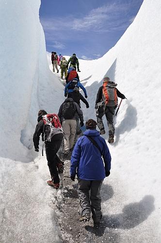 Wandern im (nicht ganz so) ewigen Eis
