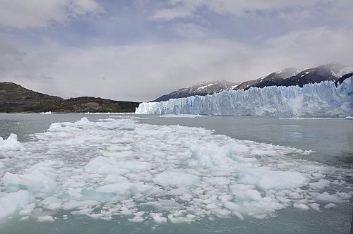 Der Perito Moreno vom Boot aus