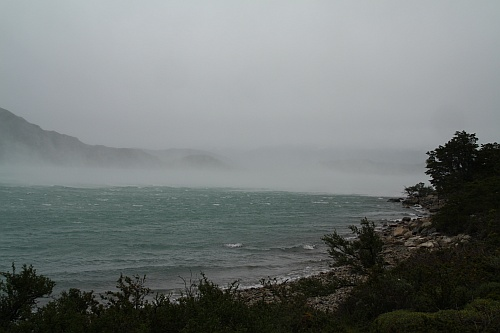 Unwetter  über dem Nordenskjöld