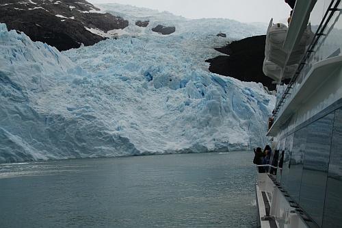 Der Spegazzini Gletscher