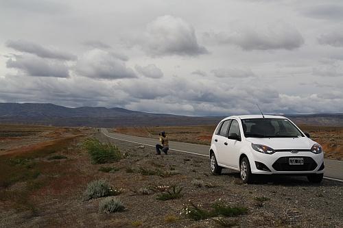 Unser 'very new car' mit knapp 13.000 km auf dem Tacho