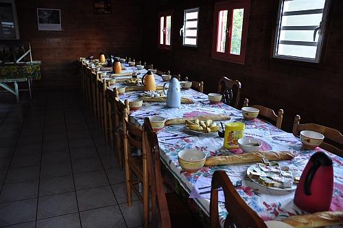 Gite Georget Boyer: Frühstück