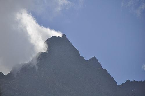 Der rauchende Berg