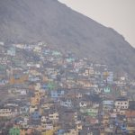 Armutsviertel am Rand von Lima