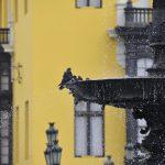 Springbrunnen am Plaza de Armas