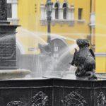 Springbrunnen am Plaza de Armasa