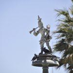 Springbrunnen-Figur