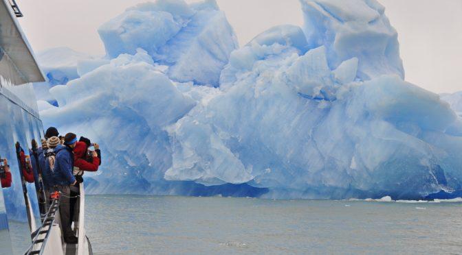 Eisberg vor dem Uppsala Gletscher