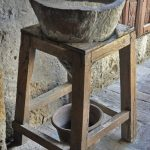Wasserfilter im Kloster Santa Catalina