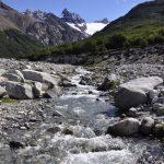 Bach auf dem Weg zur Laguna de los Tres