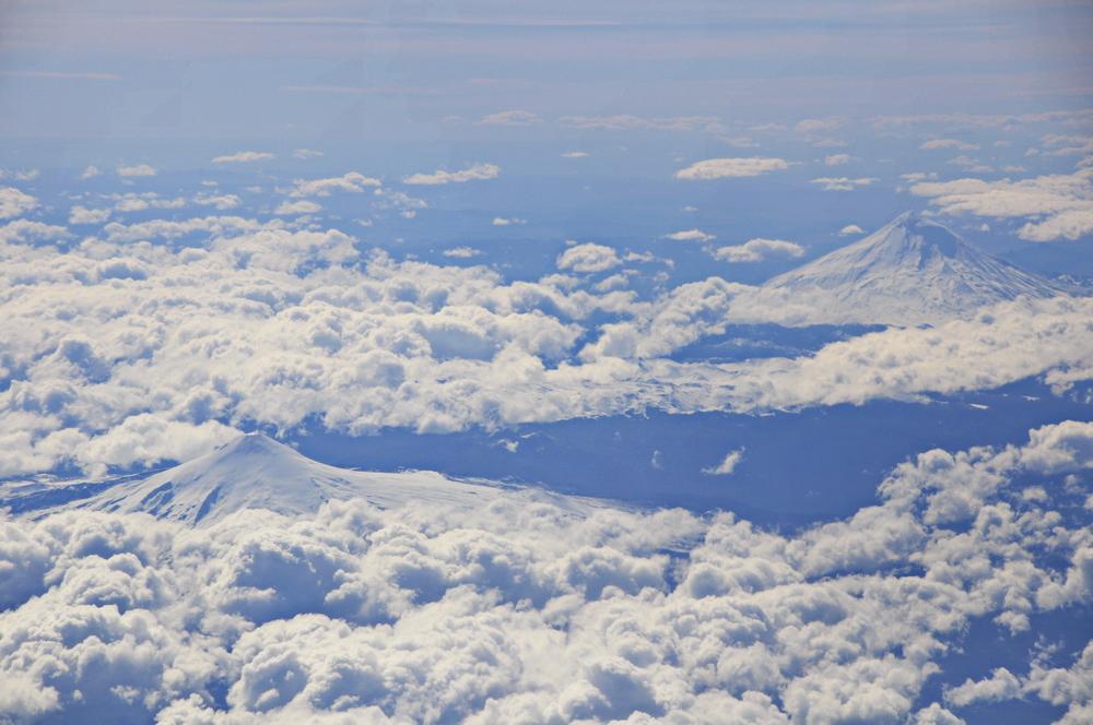 Vulkane der Andenkette