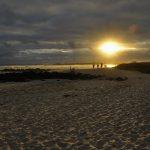 Sonnenuntergang an Tortuga Bay