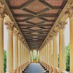 Säulengang im Belvedere