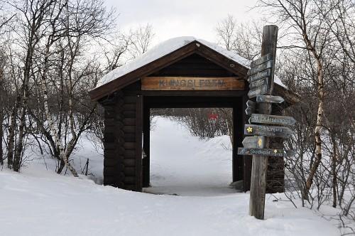 Eingang zum Kungsleden