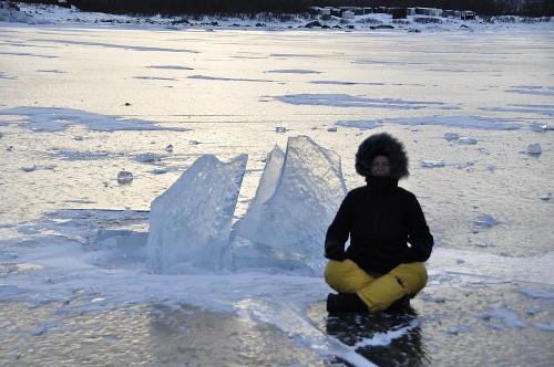 Eis-Meditation