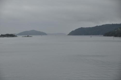 Einfahrt in den Oslofjord