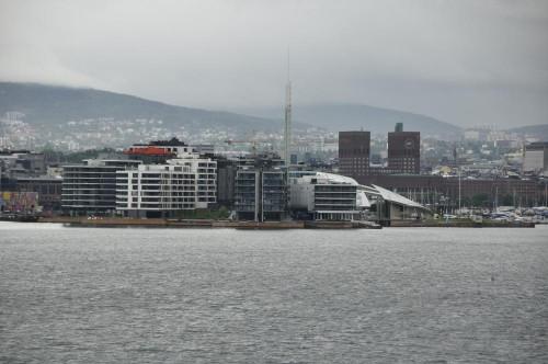 Oslo in Sicht
