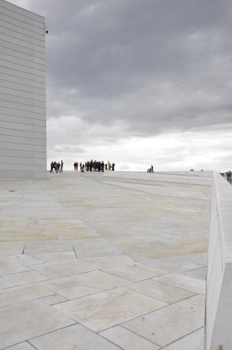 Der Oper aufs Dach gestiegen
