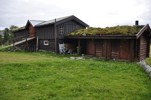 Das Sanitär-Gebäude