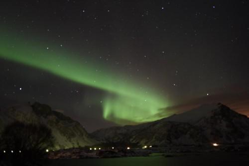 Nordlichter in Action