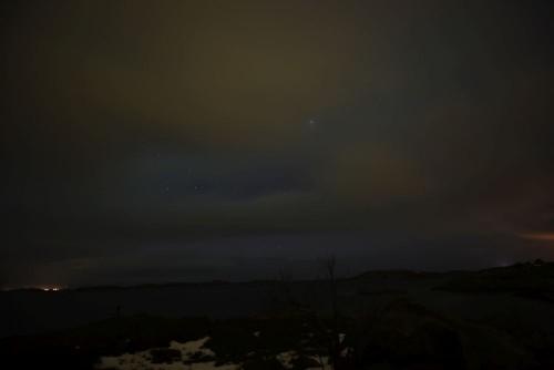Keine Nordlichter zu sehen