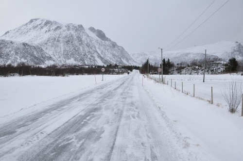 Winterliche Straßen