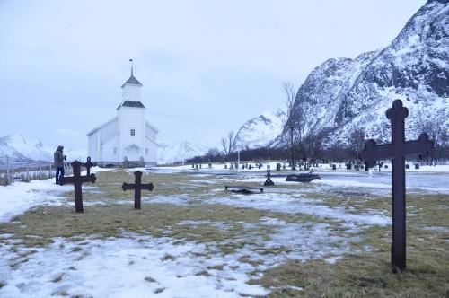 Kirche in Gimsøy