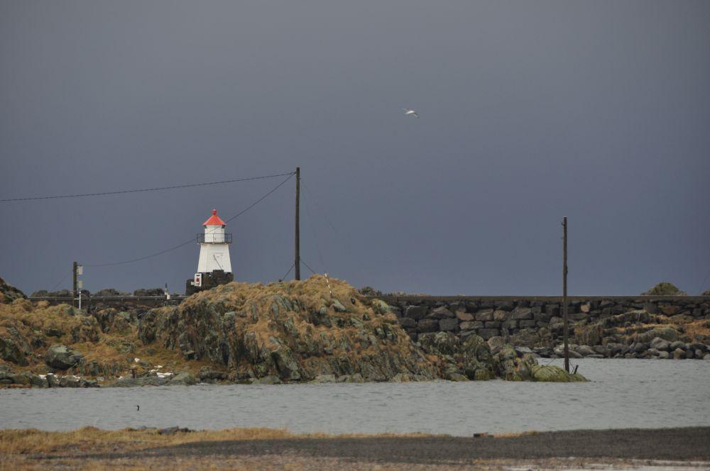 Leuchtturm in Laukvik
