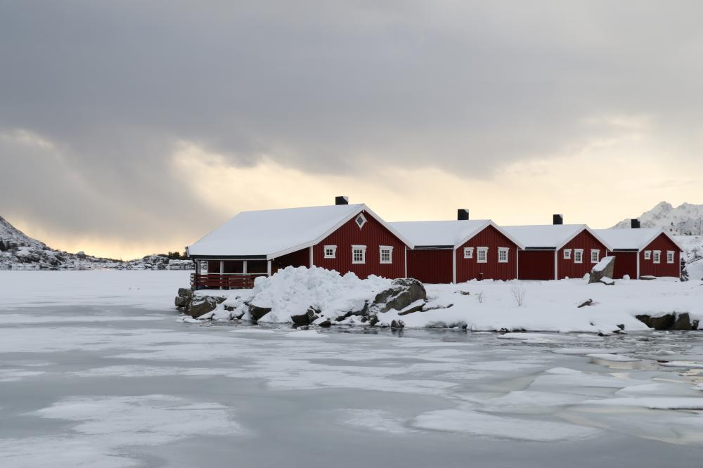 Rorbuer am Rolvsfjord