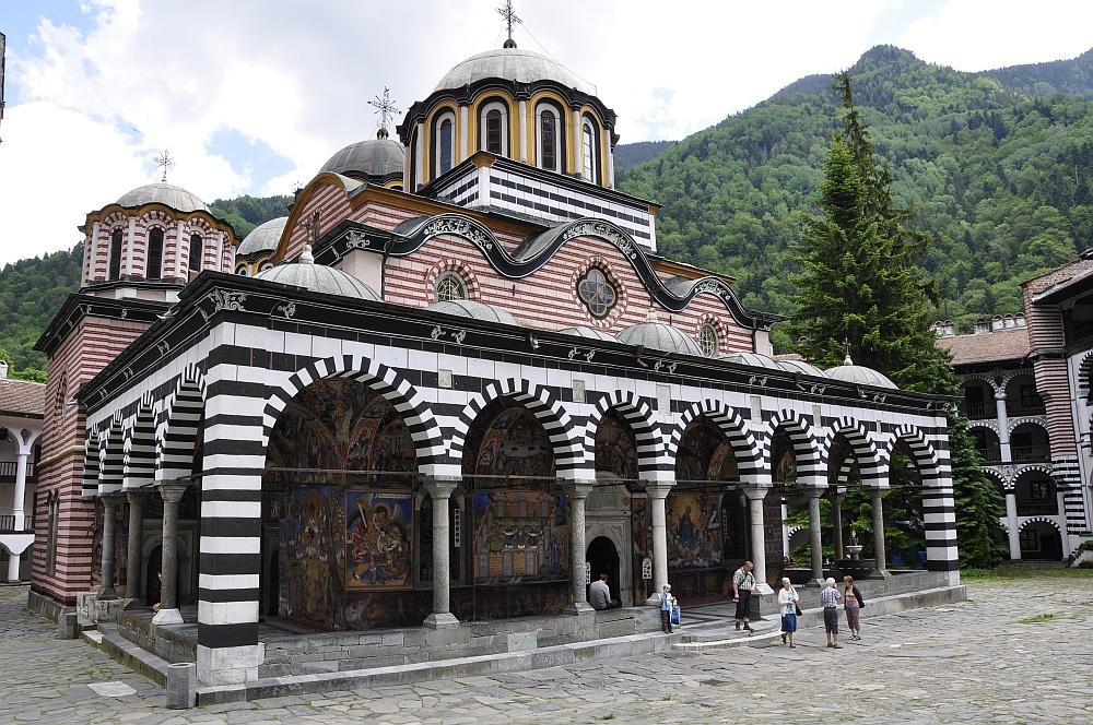 Kapelle des Rila-Klosters