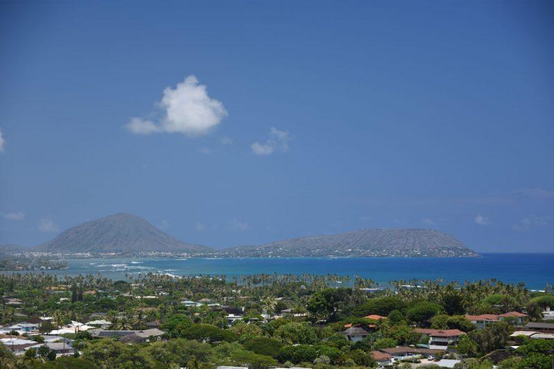 Ausblick auf die andere Seite der Insel