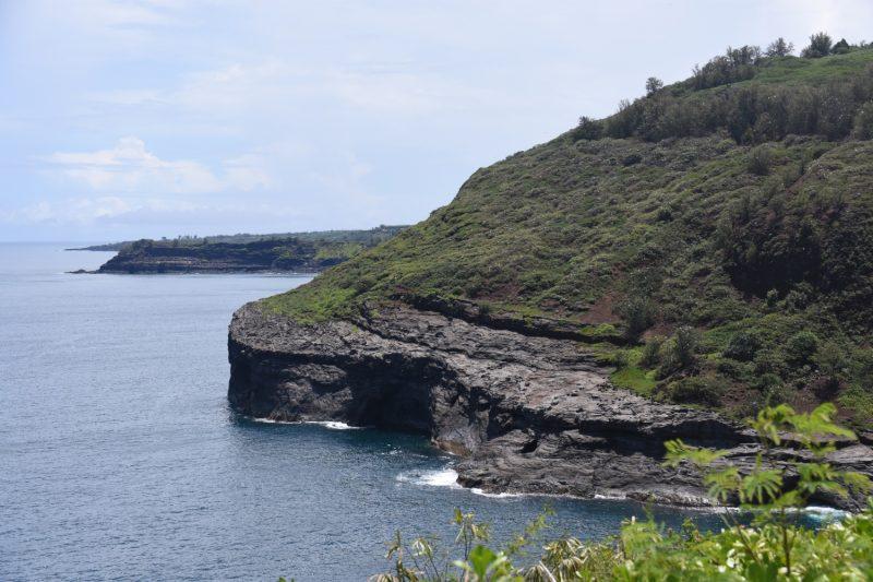 Ostküste bei Kilauea - nach Süden geschaut