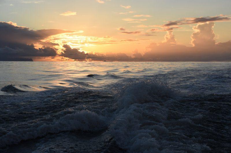 Sonnenuntergang über Niihau