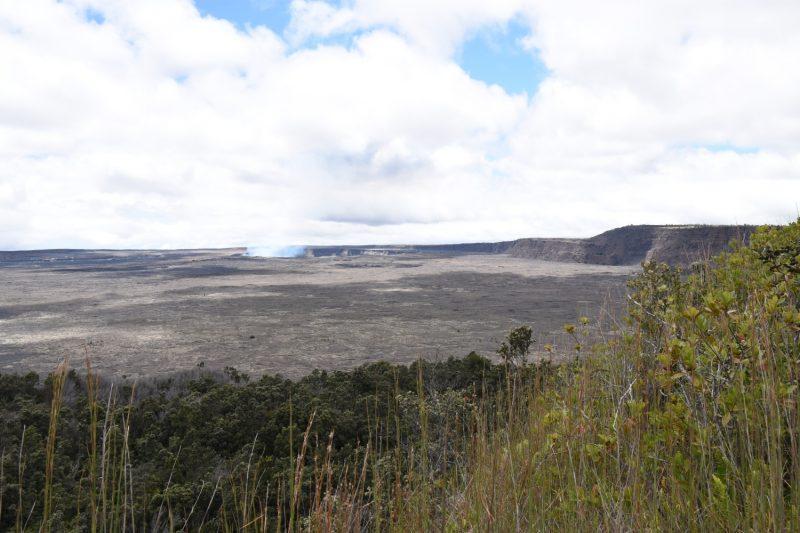 Der Kilauea raucht