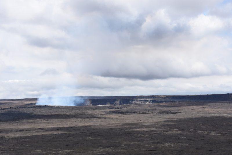 Im Krater angekommen