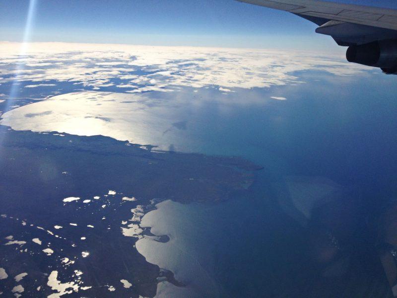 Blick auf Island