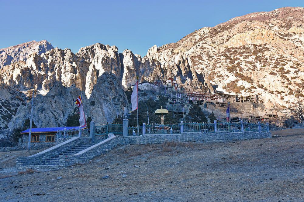 Klosteranlage bei Brakha