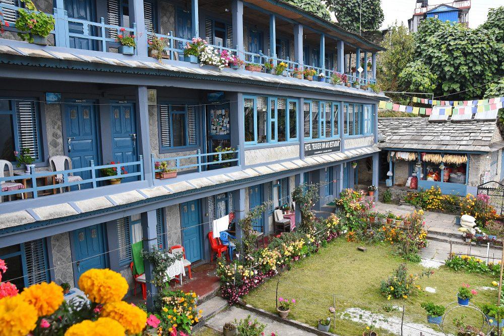 Toll gepflegte Lodge in Ghandruk