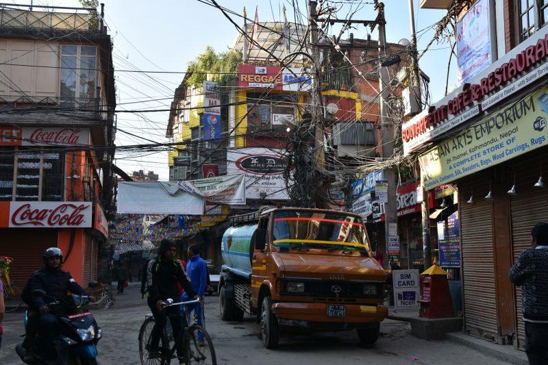 Verkabelung auf Nepalesisch