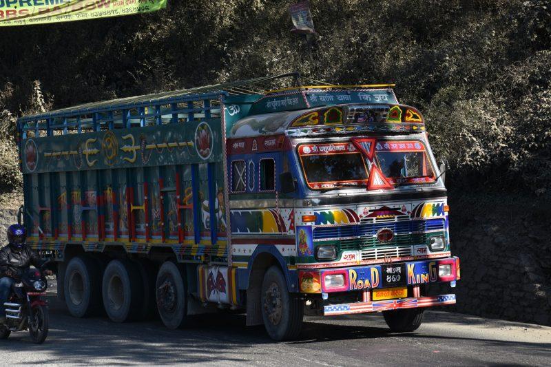 LKW auf Nepalesisch