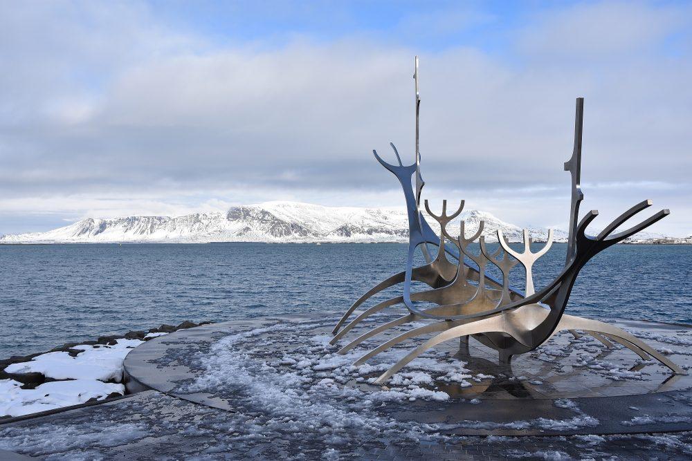 Los geht's durch Reykjavik