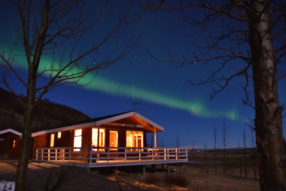 Nordlicht zu Hause
