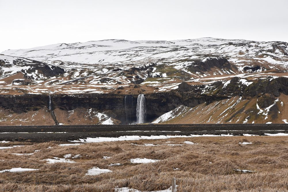 Anfahrt zum Seljalandsfoss