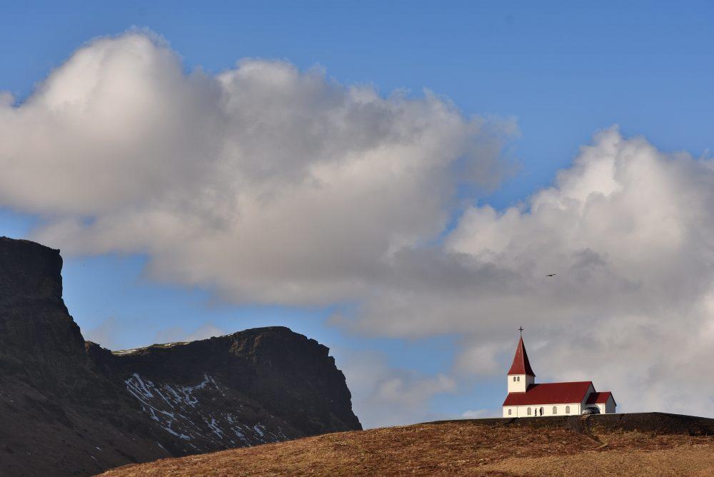 Kleine Kirche kurz vor Vik