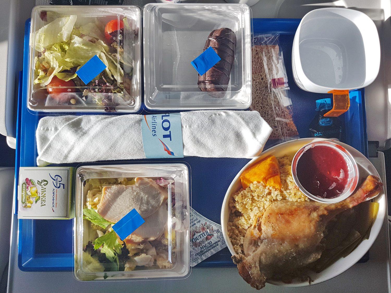 Lecker Essen bei Aeroflot