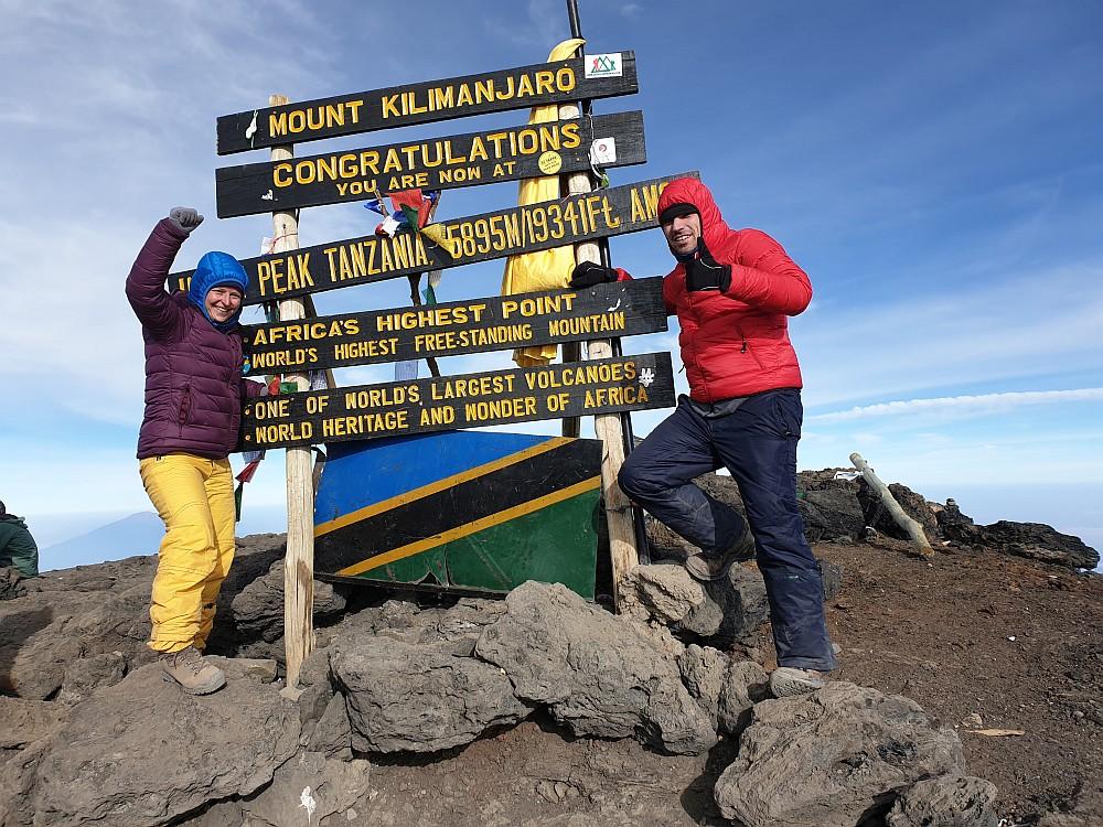 Uhuru Peak, 5.895m